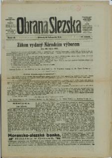 Obrana Slezska, 1918, Nry 31-32, 36