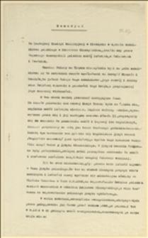 Memoriał z danymi statystycznymi o poziomie szkolnictwa w poszczególnych językach narodowych - Cieszyn, 20.03.1919 r.