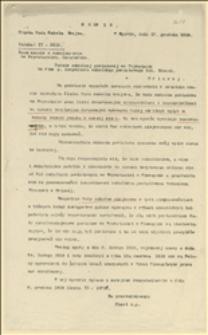 Odpis zarządzenia Śląskiej Rady Szkolnej Krajowej w Opawie o oddzieleniu szkolnictwa polskiego i niemieckiego spod kompetencji powiatowych rad szkolnych we Frysztacie i w Cieszynie - Opawa, 17.12.1919 r.