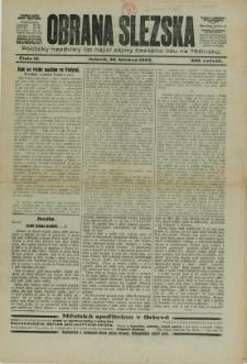 Obrana Slezska, 1925, Nry 12, 42-43, 50
