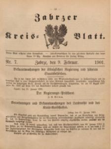 Zabrzer Kreis-Blatt, 1901, St. 7