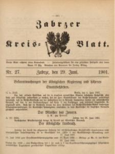Zabrzer Kreis-Blatt, 1901, St. 27