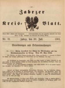 Zabrzer Kreis-Blatt, 1901, St. 31