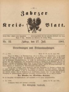 Zabrzer Kreis-Blatt, 1901, St. 32