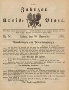 Zabrzer Kreis-Blatt, 1901, St. 50