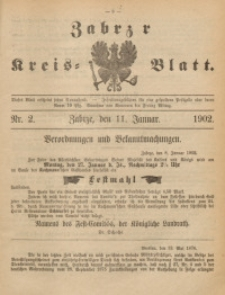 Zabrzer Kreis-Blatt, 1902, St. 2