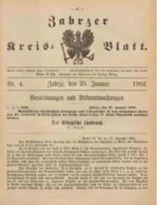Zabrzer Kreis-Blatt, 1902, St. 4