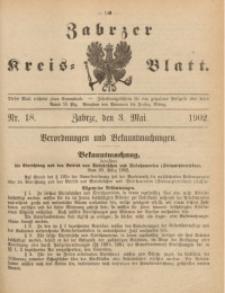 Zabrzer Kreis-Blatt, 1902, St. 18