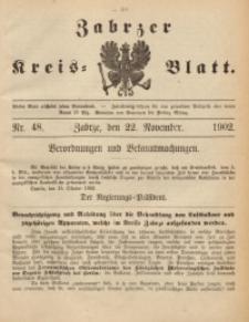 Zabrzer Kreis-Blatt, 1902, St. 48