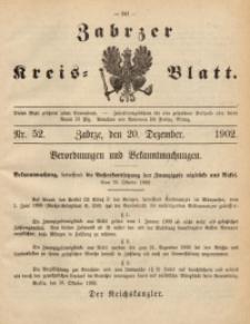 Zabrzer Kreis-Blatt, 1902, St. 52