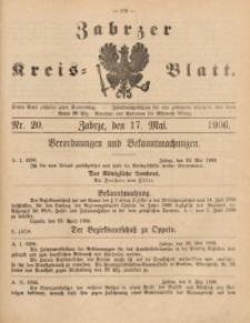 Zabrzer Kreis-Blatt, 1906, St. 20