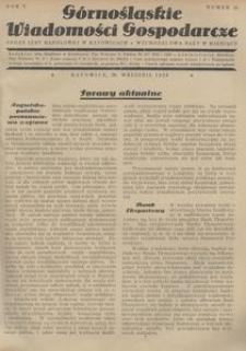 Górnośląskie Wiadomości Gospodarcze, 1928, R. 5, nr 18