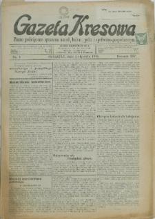 Gazeta Kresowa, 1934, Nry 1-23