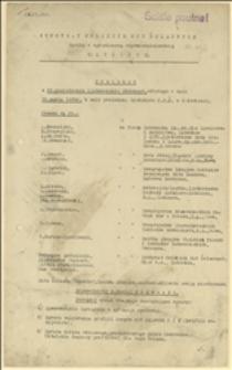 Protokół z 95 posiedzenia Zjednoczenia Głównego Syndykatu Polskich Hut Żelaznych z dnia 26.03.1935 r.