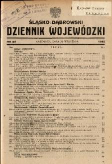 Śląsko-Dąbrowski Dziennik Wojewódzki, 1945, nr 24