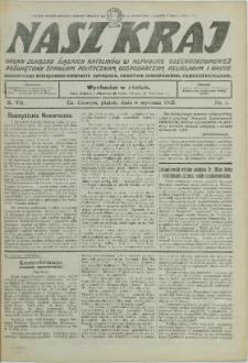 Nasz Kraj, 1933, Nry 1-51/52