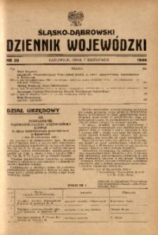 Śląsko-Dąbrowski Dziennik Wojewódzki, 1946, nr 29