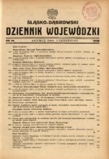 Śląsko-Dąbrowski Dziennik Wojewódzki, 1948, nr 19