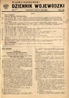 Śląsko-Dąbrowski Dziennik Wojewódzki, 1949, nr 2