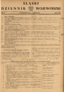 Śląski Dziennik Wojewódzki, 1949, nr 22