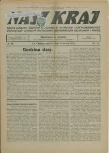 Nasz Kraj, 1935, Nry 10, 20-30