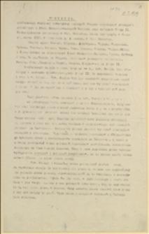 Protokół konferencji wspólnej towarzyszy czynnych Związku robotników przemysłu górniczego i Svazu Českoslovanskych horniku oraz członków Grupy II Stowarzyszenia górniczego w Morawskiej Ostrawie, która się odbyła w środę 12 marca 1919 r. ... w Morawskiej Ostrawie