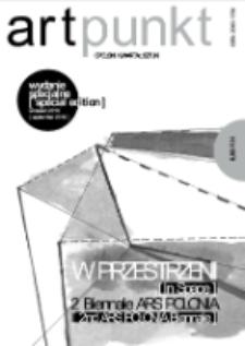 Artpunkt : opolski kwartał sztuki 2010, Wydanie specjalne.