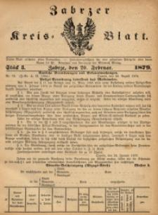 Zabrzer Kreis-Blatt, 1879, St. 8