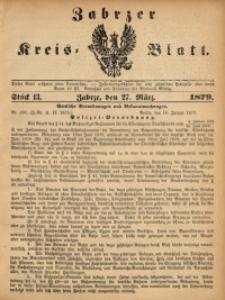 Zabrzer Kreis-Blatt, 1879, St. 13
