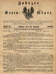 Zabrzer Kreis-Blatt, 1879, St. 35