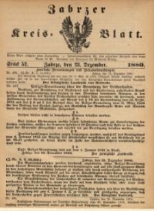 Zabrzer Kreis-Blatt, 1880, St. 52