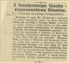 Z fanatycznego Czecha - stuprocentowy Niemiec