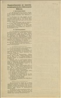 Statut organizacyjny Niemieckiej Socjaldemokratycznej Partii Robotniczej Moraw