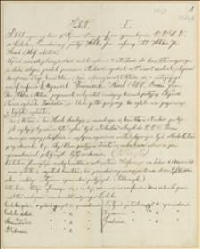 Protokoły zgromadzeń PPSD w Cierlicku w dniach 19.01. i 08.03.1908 r.
