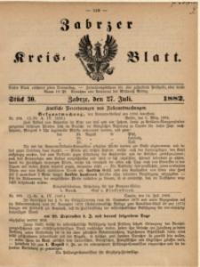 Zabrzer Kreis-Blatt, 1882, St. 30