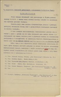 Okólniki PPSD na Śląsku nr 2,3 i 4 (sprawy agitacji i kolportażu czasopism)