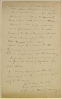 Notatki z rozprawy w Czeskim Cieszynie w dniu 20.09.1919 r. - Emanuel Chobot przeciw Janowi Machejowi
