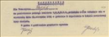Zaproszenie dla T. Regera na posiedzenie pełnego Komitetu OKR PPS w dniu 21.08.1921 r. w Cieszynie