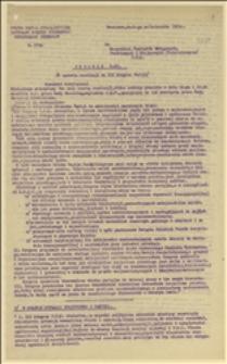Materiały na XIX Kongres PPS