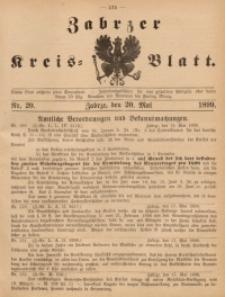 Zabrzer Kreis-Blatt, 1899, St. 20