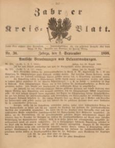 Zabrzer Kreis-Blatt, 1899, St. 36