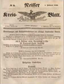 Neisser Kreis-Blatt, 1850, Jg. 9, nr5