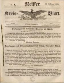 Neisser Kreis-Blatt, 1850, Jg. 9, nr7