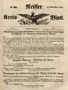 Neisser Kreis-Blatt, 1850, Jg. 9, nr46