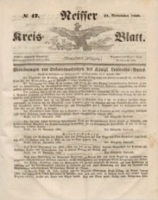 Neisser Kreis-Blatt, 1860, Jg. 19, nr47