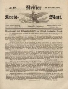 Neisser Kreis-Blatt, 1861, Jg. 20, nr47