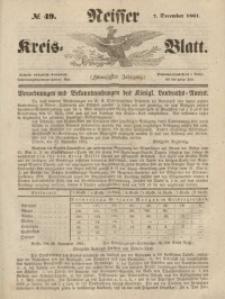 Neisser Kreis-Blatt, 1861, Jg. 20, nr49