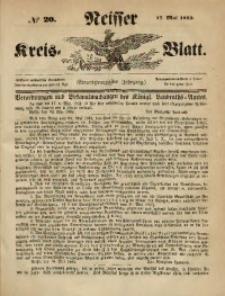 Neisser Kreis-Blatt, 1862, Jg. 21, nr20