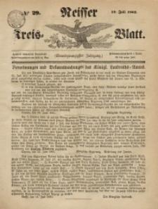 Neisser Kreis-Blatt, 1862, Jg. 21, nr29