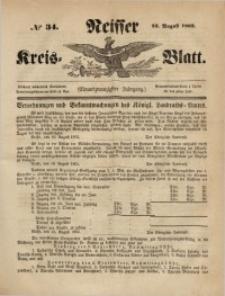 Neisser Kreis-Blatt, 1862, Jg. 21, nr34